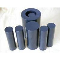 Buy cheap 100mm Width Black Teflon Rods / PTFE Rod For Chemical , Self Lubricating from wholesalers