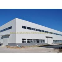 Buy cheap Q235 Q345 Multi Floor Building Industrial Prefab Warehouse Buildings from wholesalers