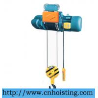 Buy cheap CD1 wire rope electric lifting hoist from wholesalers