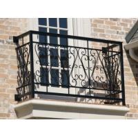Buy cheap wrought iron balcony railing from wholesalers
