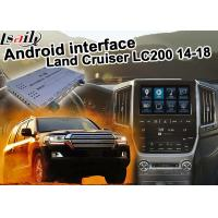 Buy cheap Toyota Land Cruiser LC200 Car Video Interface Upgrade Carplay Android Auto Durable from wholesalers