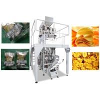Buy cheap High Speed Multihead Weigher Packing Machine / Automatic Chips Packing Machine from wholesalers