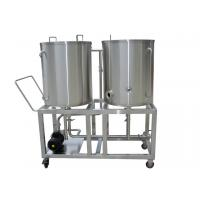 Buy cheap Polishing Stainless Steel 2HL CIP System Bar Brewery CIP System 220V / 380V from wholesalers
