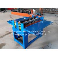 Buy cheap Professional Electric Simple Color Steel Metal Sheet Coil Slitting Machine 2 Years Warranty from wholesalers