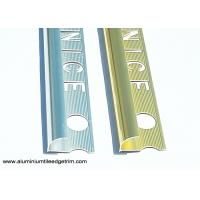 Buy cheap Aluminium Alloy 6463 Wall Tile Corner Trim Four Kitchen Guard Polished from wholesalers
