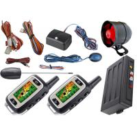 China Long Distance Transmitter Anti Theft Car Security System Automatic Car Starter Kits Bypass Output on sale