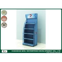 Buy cheap Red Customized Motor Oil Display Rack Shoe Racks 750mm*450mm*1800mm from wholesalers