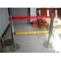 Buy cheap Security Crowd Control Stanchions Queue Way Barriers Posts with one Belt from wholesalers