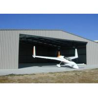 Buy cheap Custom Fabric Steel Structure Hangar , Lightweight Steel Aircraft Hangar Buildings from wholesalers