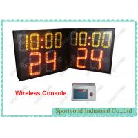 Buy cheap Electronic LED College Basketball 24s Shot Clock With Game Period Time -Size 54 X 47cm from wholesalers