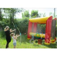 Buy cheap Fun Outdoor Inflatable Sport Game Bouncy Security For Archery Shooting from wholesalers