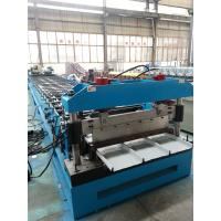 Buy cheap Hydraulic Kliplock roll forming machine 0.3-0.8mm Thickness 25 Stations product