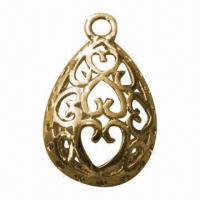 Buy cheap Pendants, Made of Zinc Alloy, with Hollow Design, Retro Visual Effects product