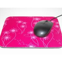 Buy cheap Sublimation Customized Cloth Mouse Pad With Non Skid Rubber Base from wholesalers