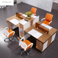 Buy cheap Interior Design Office Workstation Partition Veneer Finish Standard Size from wholesalers