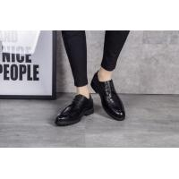 Buy cheap Black Slip on Round Toe Men Formal Dress Shoes Spring / Autumn Comfortable from wholesalers