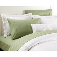 Buy cheap Sateen Stripe Sheets 4pcs Bedsheets PolyCotton Egyptian Cotton Touch from wholesalers