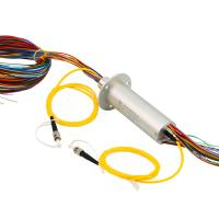 Buy cheap Electrical and Optical Slip Ring with 240 VDC Volatge 50Hz Frequency for Electro-optical Pod from wholesalers