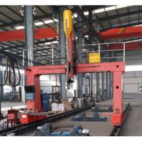 Buy cheap Big Diameter Light Pole Welding Machine Gantry Type Shut Welding product