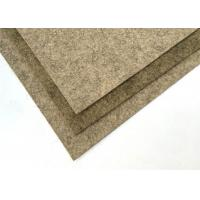 Buy cheap Needled Punched Brown Wool Felt Sheet With Choice Of Coloured product