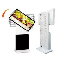 Buy cheap Customizable floor standing rotatable LCD HD advertising kiosk 43 inch IR touch from wholesalers