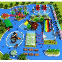 Buy cheap Highly Reliable Water Park Playground Equipment Large Size Comprehensive Type from wholesalers