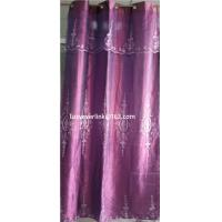 Buy cheap organza embroidered curtain with fashion valance product