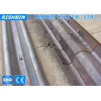 Buy cheap PLC Controlling Guardrail Barrier Metal Roll Forming Machine With Gear Box Transmission product