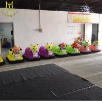 Buy cheap Hansel  indoor paygound children bumper car coin operated machine buy from China from wholesalers