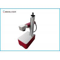 Buy cheap Red Light Optical Fiber Laser Marking Machine For Electronic Appliance from wholesalers