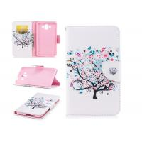 Buy cheap Colorful Tree Pu Leather Phone Case Mixed Color With Multi Function For Huawei product
