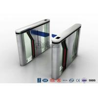 Buy cheap Pedestrian Intelligent Security Drop Arm Turnstile Access Control with LED Indicator product