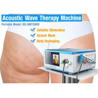Buy cheap Cellulite Treatment Acoustic Wave Therapy Machine , Shock Therapy Equipment from wholesalers