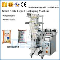 Buy cheap China Manufacturer 250ml coconut milk packing machine from wholesalers