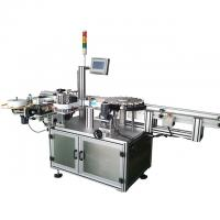 Buy cheap Carton Double Sides Sticker Automatic Label Applicator Machine High Efficient from wholesalers