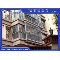 Buy cheap Easy Fire Escape Invisible Grills For Balcony Maintaining A Transparent Good View from wholesalers