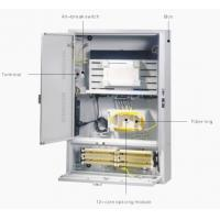 Buy cheap Stainless Steel Outdoor Telecom Enclosure For CATV Equipment , FTTX Cabinet from wholesalers