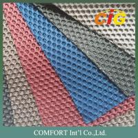 Buy cheap Auto Car Upholstery Tear Resistant Tricot Knitting Mesh Fabric with Shiny Lines product