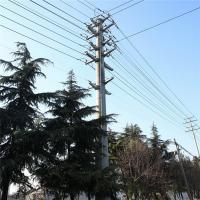 Buy cheap Round Steel Pole Tower Non Tapered Poles 10 To 30 Ft Hot Dip Galvanization product