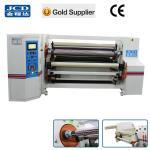 Buy cheap double shafts gummed tape/ BOPP tape/ masking tape jumbo roll rewinding machine from wholesalers