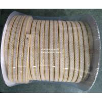 Buy cheap aramid with white PTFE braided packings impregnated PTFE from wholesalers