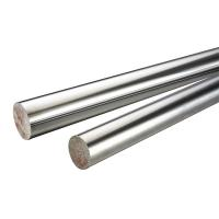Buy cheap 45 # / 304 Stainless Steel Chrome Piston Rod , Different Diameters Cylinder Piston Rod from wholesalers