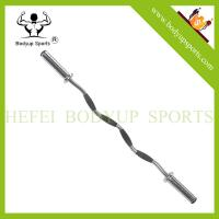 China asian Market Hot Sale! Barbell With Rubber Handle on sale