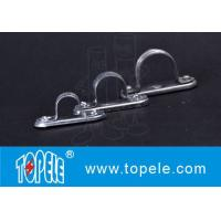Buy cheap Galvanized Steel Spacer Bar Saddle With Base / 20mm Diameter Conduit Clamp from wholesalers