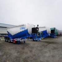 Buy cheap Cement tanker cement silos truck semi trailer silo trailer for sale | CIMC TRAILERS from wholesalers