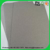 Buy cheap 0.7mm 1.5mm 1mm 2.0mm 2.5mm 3mm glossy laminated gray cardboard product