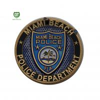 Buy cheap Custom Design Professional wholesale factory police coin challenge from wholesalers