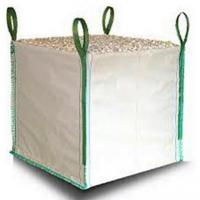 Buy cheap White One Ton PP Woven Gravel Bulk Bag For Builder Construction Use from wholesalers