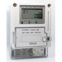 Buy cheap IC Card Electricity Prepaid Meter Class 1S Accuracy Single Phase Power Meter from wholesalers