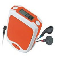 Buy cheap ABS material FM Radio Pedometer with 6 digits LCD display, CE and ROHS product